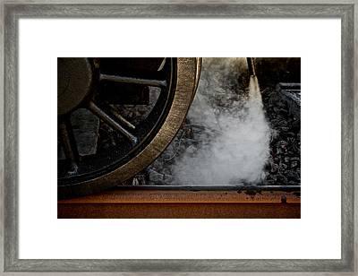 Steam Framed Print by Odd Jeppesen