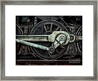 Steam Power Framed Print by Olivier Le Queinec
