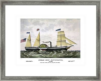 Steam Ship Southerner Framed Print by Pablo Romero