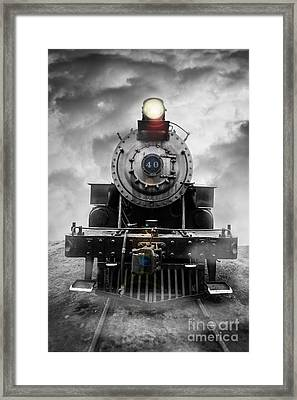Steam Train Dream Framed Print by Edward Fielding