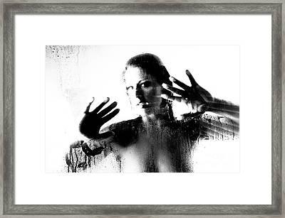 Steamed Glass Framed Print by Jt PhotoDesign