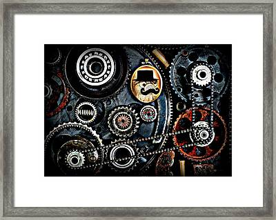 Steampig - Can I Play With Savadness Framed Print by Piggy