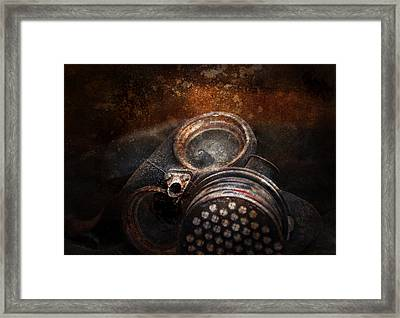 Steampunk - Doomsday  Framed Print by Mike Savad