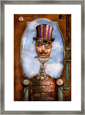Steampunk - Integrated Framed Print by Mike Savad