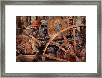 Steampunk - Machine - The Industrial Age Framed Print by Mike Savad
