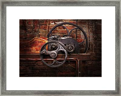 Steampunk - No 10 Framed Print by Mike Savad