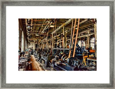 Steampunk - The Age Of Industry Framed Print by Paul Ward
