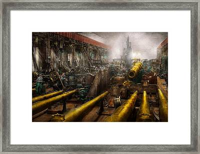 Steampunk - War - We Are Ready Framed Print by Mike Savad