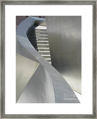 Steel And Concrete Framed Print by Ausra Paulauskaite