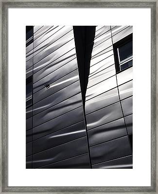 Steel Currents Framed Print by Rona Black