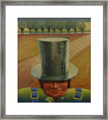 Steely Dan The Straightway Man Framed Print by Arthur Glendinning
