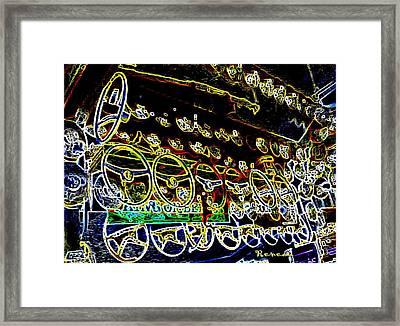 Steer Yourself Safely Framed Print by Sadie Reneau