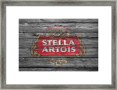 Stella Artois Framed Print by Joe Hamilton