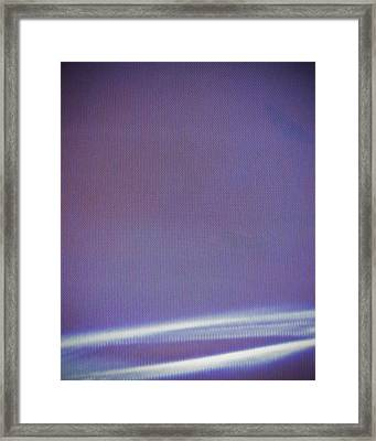 Stellar Ribbon Framed Print by Eric Canuel