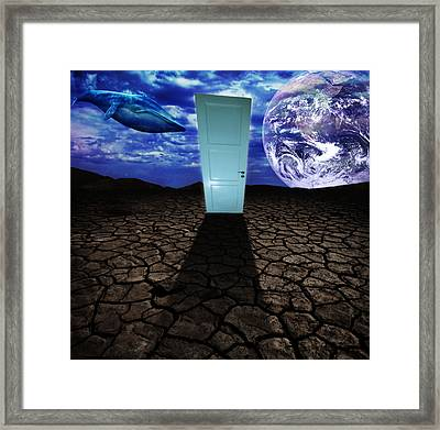 Step Into The Dream Framed Print by Nicklas Gustafsson