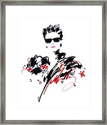 Stephanie Framed Print by Giannelli