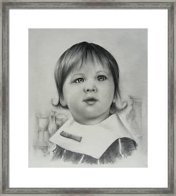 Stephanie Framed Print by Rachel Christine Nowicki