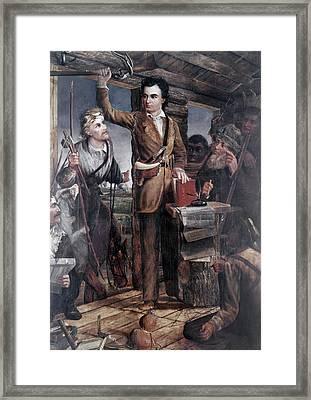 Stephen Fuller Austin (1793-1836) Framed Print by Granger