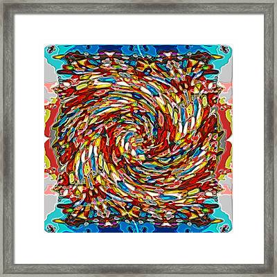 Steppinwolf Alteration Framed Print by George Curington