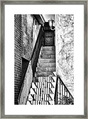 Steps Framed Print by Camille Lopez