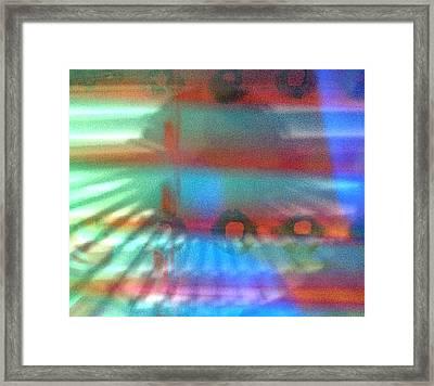 Steps Framed Print by Kelly McManus