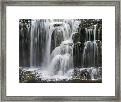 Steps Of Water Framed Print by Loree Johnson