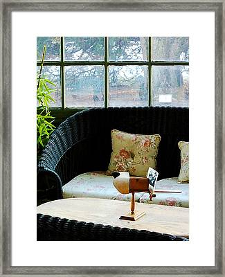 Stereopticon Framed Print by Susan Savad