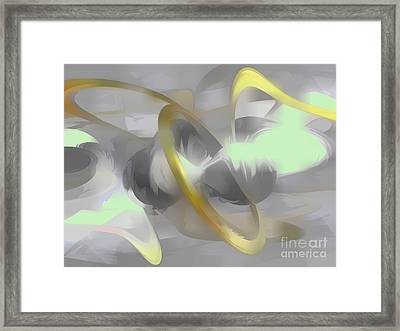 Sterling Desire Abstract Framed Print by Alexander Butler