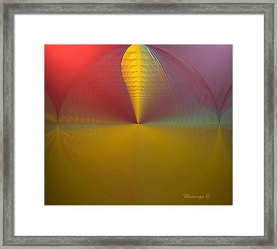 Stern Framed Print by Ines Garay-Colomba