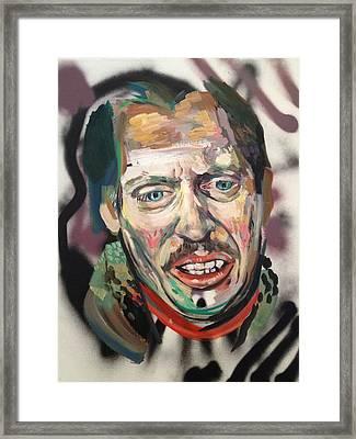 Steve Buscemi Framed Print by Britt Kuechenmeister