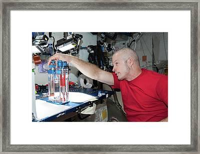 Steve Swanson Framed Print by Nasa