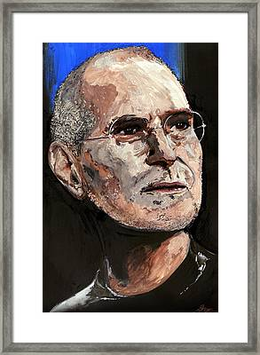 Steven Paul Jobs Framed Print by Gordon Dean II