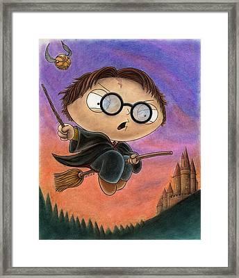 Stewie Potter Framed Print by Jason Axtell