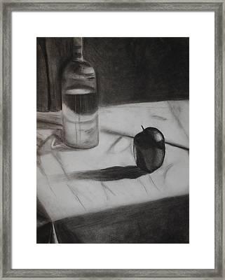 Still Framed Print by Leslie Ann Hammer
