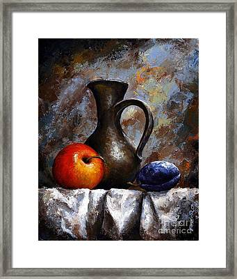 Still Life 13 Framed Print by Emerico Imre Toth