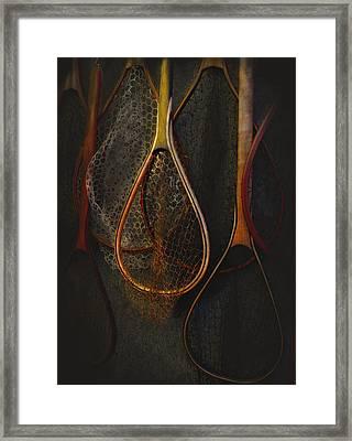 Still Life - Fishing Nets Framed Print by Jeff Burgess