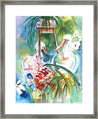 Still Life In Cheb In The Cech Republic Framed Print by Miki De Goodaboom