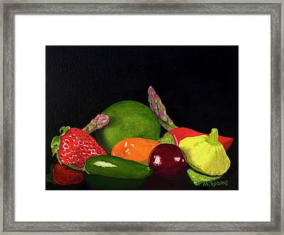 Still Life No. 3 Framed Print by Mike Robles