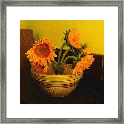 Still Life September Framed Print by RC deWinter