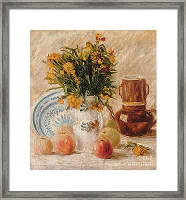 Still Life Framed Print by Vincent van Gogh