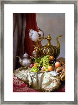 Still-life With A Glass Of Dutch Framed Print by Sevrukov