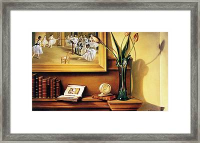 Still Life With Tulips Framed Print by Patrick Anthony Pierson
