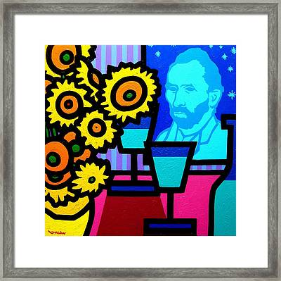 Still Life With Vincent Framed Print by John  Nolan