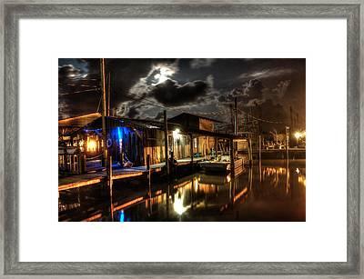 Still Marina Framed Print by Michael Thomas