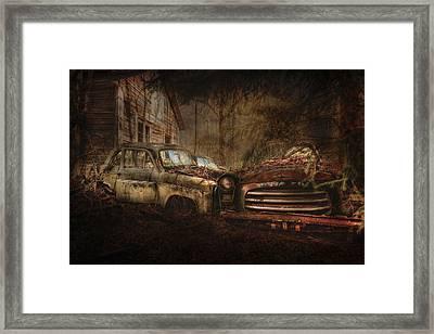 Still Standing Framed Print by Erik Brede