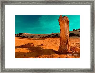 Still Standing Framed Print by Julian Cook