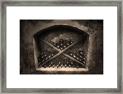 Still Wine Framed Print by William Fields
