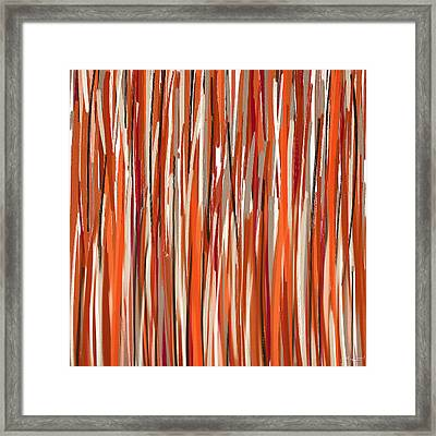 Stimulating Colors Framed Print by Lourry Legarde