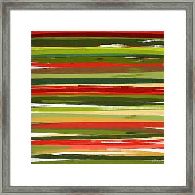 Stimulating Essence Framed Print by Lourry Legarde
