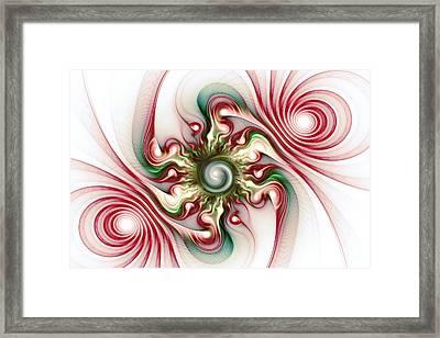 Stimulation Framed Print by Anastasiya Malakhova